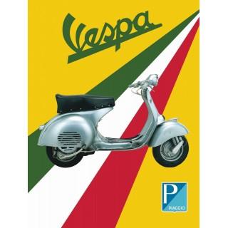 vespa-service-metal-sign