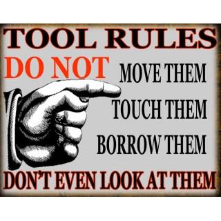 tool-rules-vintage-garage-metal-tin-sign