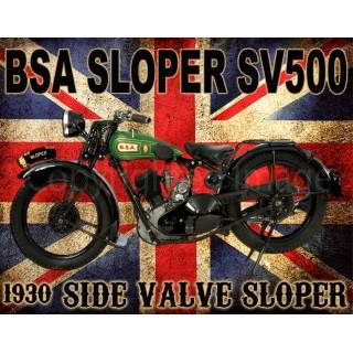 bsa-sloper-sv500-motorcycle-vintage-metal-tin-sign