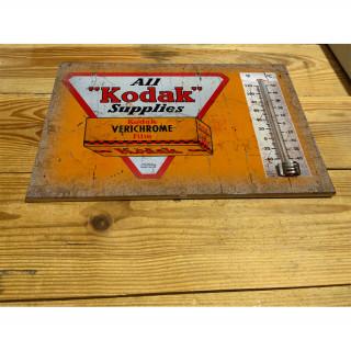 Bradbury motor cycles enamel ceramic thermometer sign