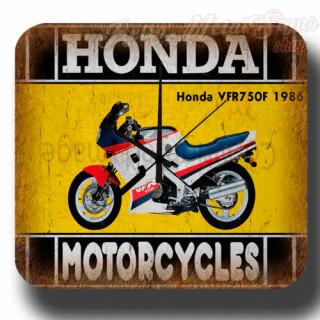 Honda VFR750F 1986  vintage retro metal tin sign wall clock