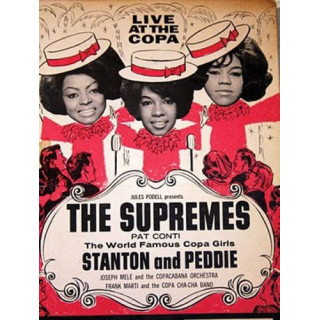 Diana Ross & The Supremes 1968 music metal tin sign poster wall plaque