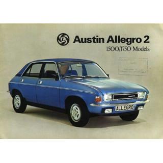 Austin Allegro 2   vintage metal tin sign wall plaque