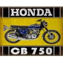 Honda cb750 classic motorcycle  vintage garage advertising plaque metal tin sign poster