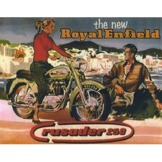 royal-enfield-rusader-250-motorcycle-metal-sign