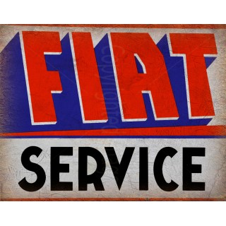 fiat-service-vintage-metal-tin-sign-wall-plaque