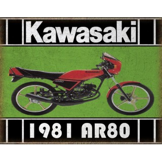 1981-kawasaki-ar80-samurai-metal-tin-sign
