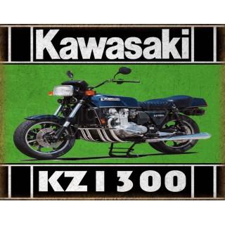 kawasaki-kz-1300-motorcycle-tin-metal-sign