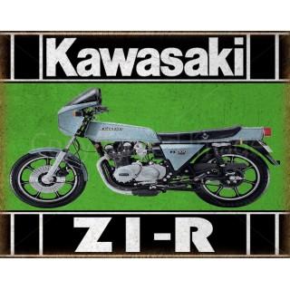 kawasaki-z1-r-motorcycle-metal-tin-sign