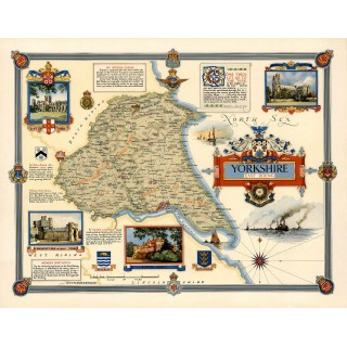 yorkshire-east-riding-1947-pictorial-map-metal-tin-sign