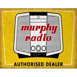 Murphy-Radio-metal-tin-sign