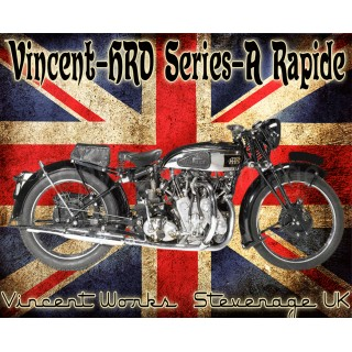 vincent-hrd-series-a-rapide-metal-sign