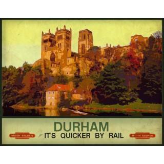 durham-quicker-by-rail-metal-sign