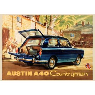 austin-a40-countryman-tin-sign