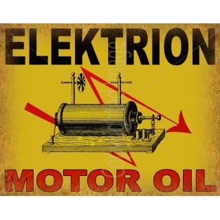 elektrion-motor-oil-metal-sign
