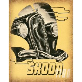 skoda-1100-vintage-metal-sign