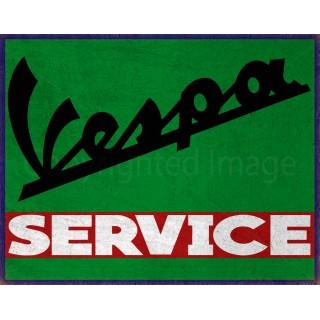 vespa-service-tin-sign