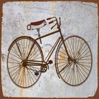 Vintage Bicycles metal tin signs