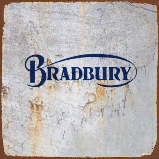Bradbury motorcycle metal tin signs