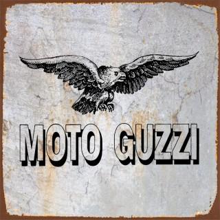 Moto Guzzi motorcycle metal tin signs