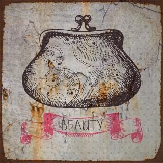 Vintage Cosmetics  metal tin signs