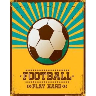 Football Tin Signs