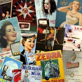 Vintage Advertisement metal tin signs