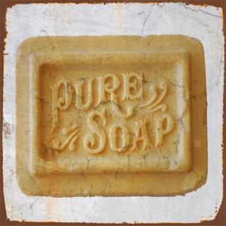 Vintage Soap metal tin signs