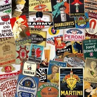 Wine/Liquors/Vodka tin signs