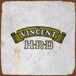 Vincent  motorcycle metal tin signs